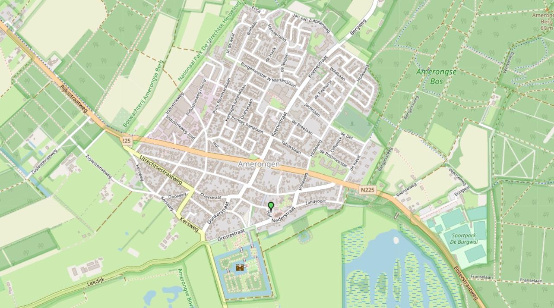 Kaart locatie Andrieskerk